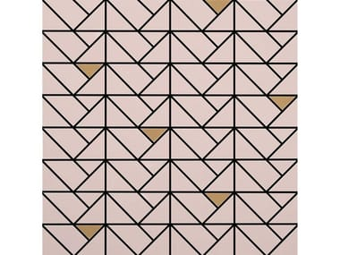 Mosaico in ceramica ECLETTICA | Mosaico Bronze Rose
