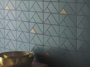 Mosaico in ceramica ECLETTICA | Mosaico Bronze Sage