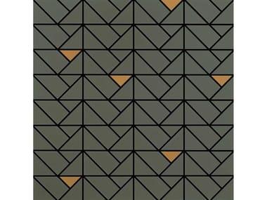 Mosaico in ceramica ECLETTICA | Mosaico Bronze Taupe
