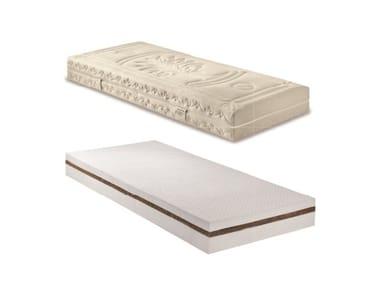 Anti-mite latex mattress with removable cover ECO QUATTRO