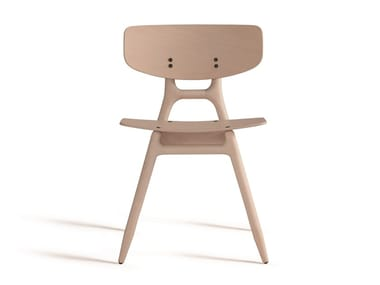 Stackable beech chair ECO 500M