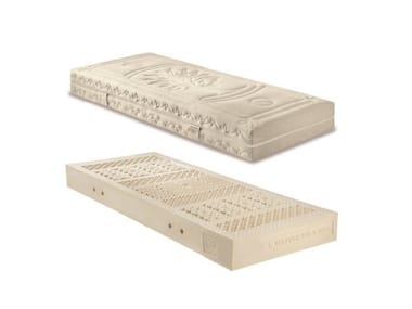 Anti-mite latex mattress with removable cover ECO DUE