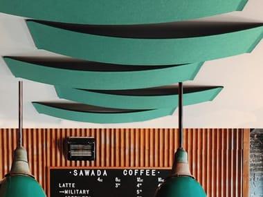 Panneau acoustique décoratif résistant au feu de fibres synthétiques ECOARCH CX - CV | Panneau acoustique décoratif en fibre de polyester