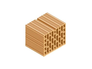 Clay block for internal partition ECOPOR® 311 30X25X25