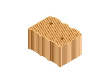 External masonry clay block ECOPOR® SSC 35X25X19