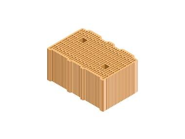 External masonry clay block ECOPOR® SSC 38X25X19