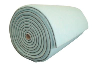 Polyester fibre thermal insulation panel / sound insulation panel ECOSOFT ROTOLI