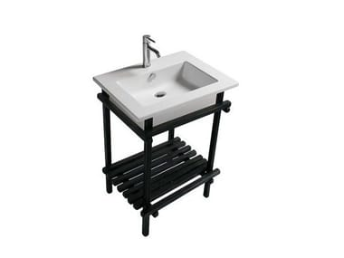 Oak console sink EDEN - 7235