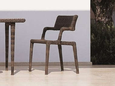 Stackable WaProLace® chair with armrests EDEN | Chair
