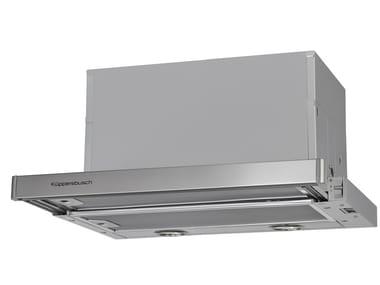 Cappa in acciaio inox ad incasso EDIP 6450.0 | Cappa ad incasso