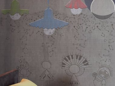 Carta da parati panoramica EGG OF COLUMBUS