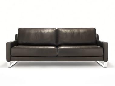 Leather sofa ROLF BENZ 011 EGO | Leather sofa