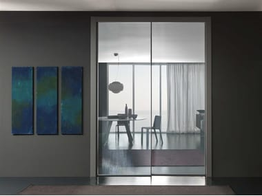 Metal sliding doors archiproducts for Gruppo door 2000 spa