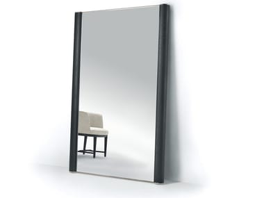 Freestanding rectangular framed mirror EGON