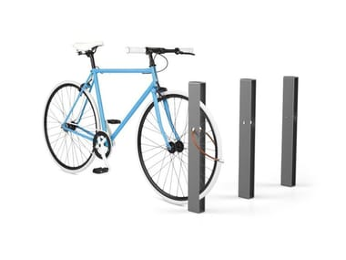 Galvanized steel Bicycle rack / bollard EIGHT | Bicycle rack