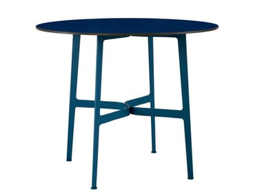 Round HPL garden table EILEEN | Round table