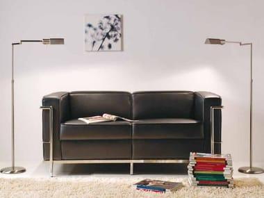 Adjustable floor lamp with swing arm ELEA