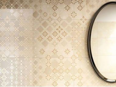 Rivestimento in ceramica effetto marmo ELEGANCE | Decoro Trina Marfil