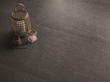 Porcelain stoneware wall/floor tiles with stone effect ELEGANCE PRO ANTHRACITE
