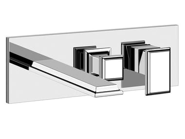 Mitigeur de baignoire mural en métal avec déviateur ELEGANZA BATH | Mitigeur de baignoire mural