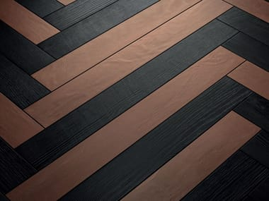 Pavimento/rivestimento in gres porcellanato ELEMENTO BRUCIATO