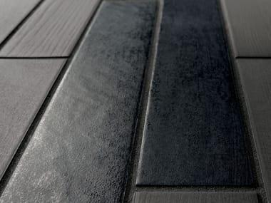 Pavimento/rivestimento in gres porcellanato effetto cotto ELEMENTO LAVA