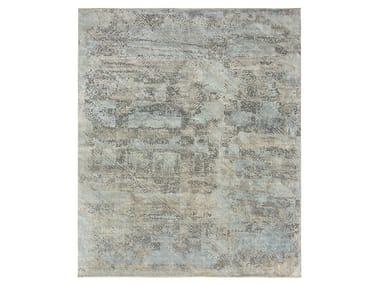 Handmade custom rug ELEMENTS LIPI GREYS