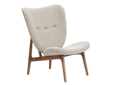Fabric armchair ELEPHANT FULLY UPHOLSTERED