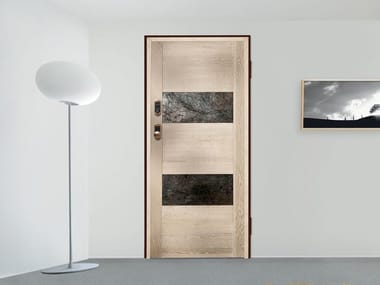 Safety door with electronic lock ELETTRA