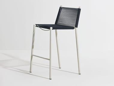 High nautical rope garden stool ELEVEN | Nautical rope stool