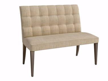 Tufted fabric small sofa ELIZA | Small sofa