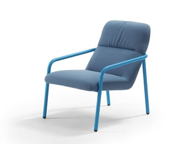 Fabric armchair with armrests ELLE   Armchair