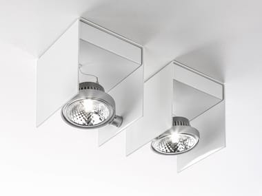 Adjustable ceiling metal spotlight ELLE | Ceiling spotlight