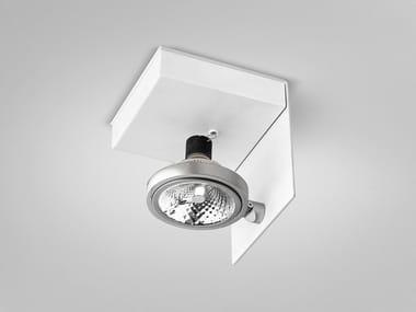 Adjustable ceiling metal spotlight ELLE | Adjustable spotlight