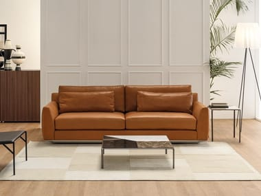 Leather Sofas With Removable Cover