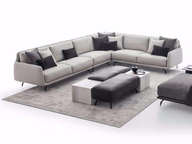 Corner fabric sofa ELLIOT | Corner sofa