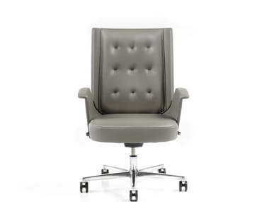 Medium back leather executive chair EMBRASSE | Medium back executive chair