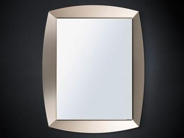 Wall-mounted framed hall mirror EMERALD