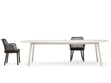 Ovaler Gartentisch EMMA | Ovaler Tisch