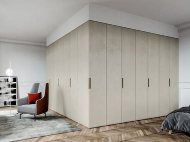 Built-in lacquered wardrobe EMOTION UP EM11