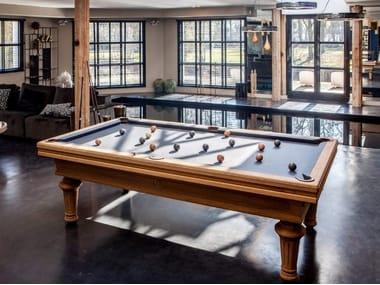 Solid wood pool table EMPEREUR VINTAGE