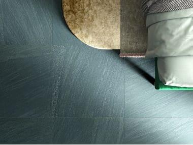 Pavimento/rivestimento in gres porcellanato effetto pietra ENCODE GREEN