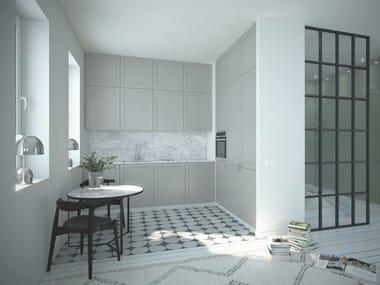 Wooden kitchen with handles ENSIÖ | Kitchen
