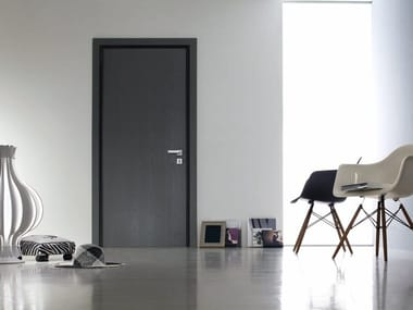 Safety door with concealed hinges TEKNO | Entry door