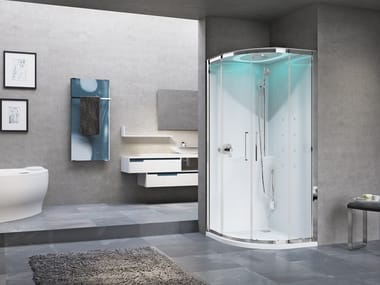 Box doccia multifunzione semicircolare EON R