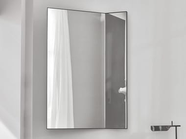 Wall-mounted mirror with cabinet PAN