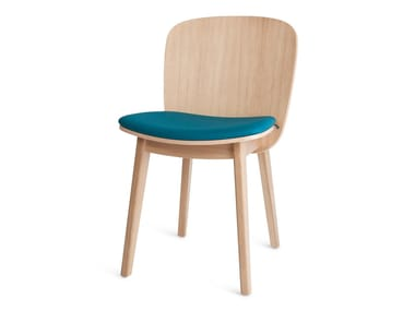 Upholstered fabric chair EPIC 01