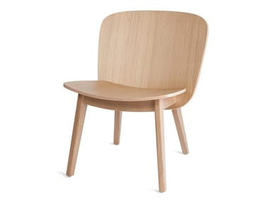 Wooden easy chair EPIC LOUNGE