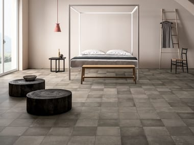 Porcelain stoneware wall/floor tiles EPOQUE BETON