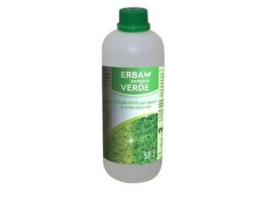 Coloring solution for natural grass ERBA SEMPRE VERDE
